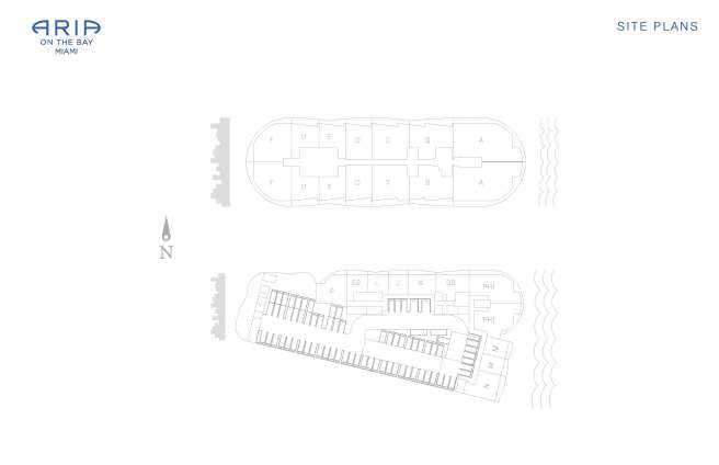 ARIA Floor Plans